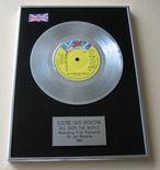 ELO ELECTRIC LIGHT ORCHESTRA - ALL OVER THE WORLD PLATINUM Single Presentation Disc
